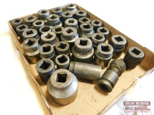 "(32) 3/4"" Dr. Impact Sockets  - Misc. Sizes"