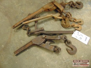 Four Lever Load Chain Binders/ Tensioners