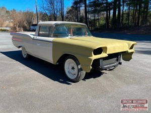 1959 Ford Ranchero Restoration Project (Incomplete)