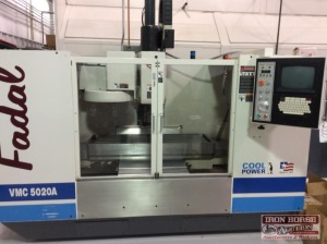Fadal VMC 5020A Cool Power CNC 88 HS Vertical Milling Machine Center
