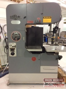 DoAll Vertical Metal Band Saw w/ DoAll DBW-15 Cutter/Welder