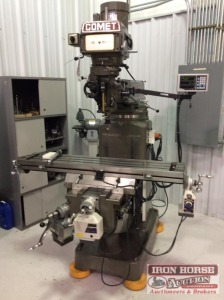 Mighty Comet Milling Machine w/ FAGOR Mod: 30iM Controls